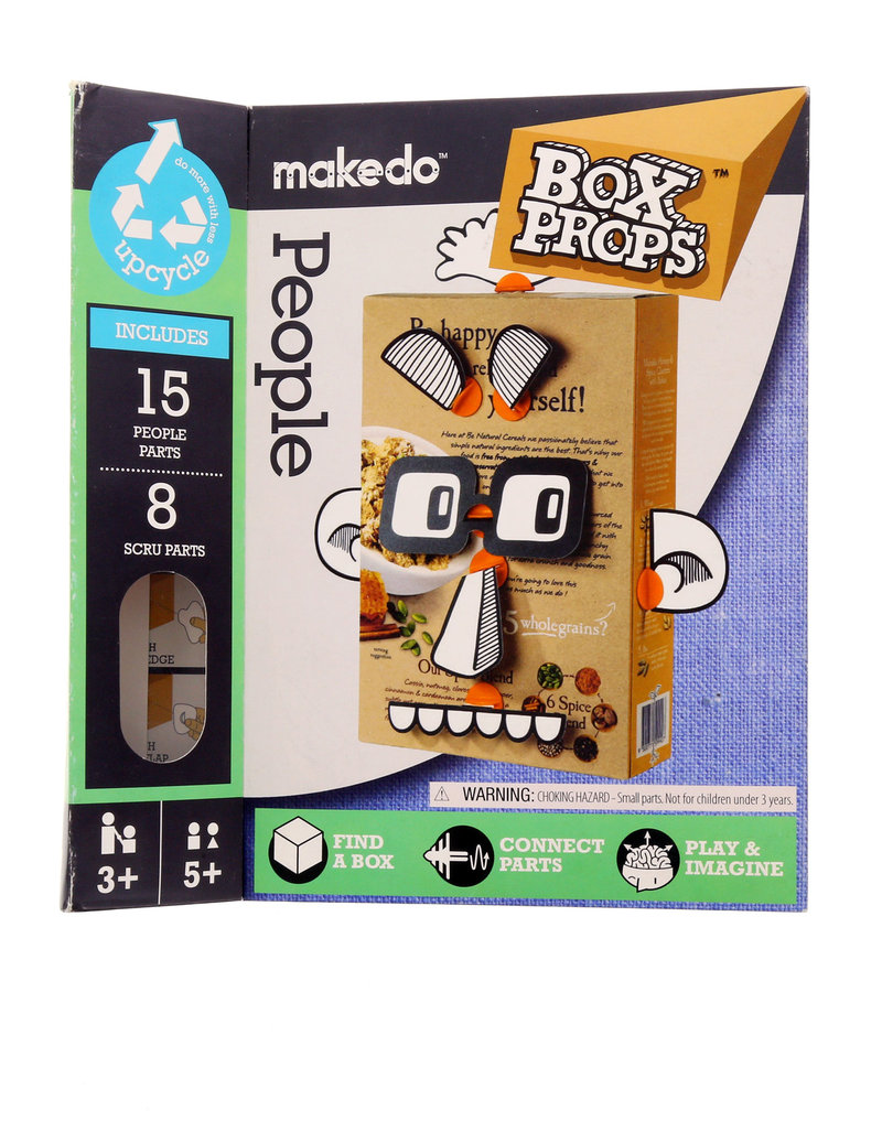 Makedo Boxprops Faces People