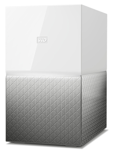 WESTERN DIGITAL MY CLOUD HOME DUO 4TB ETHERNET LAN GREY PERSONAL CLOUD STORAGE DEVICE