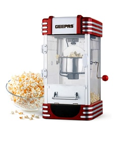 Geepas GPM839 Traditional Oil-Free Popcorn Maker