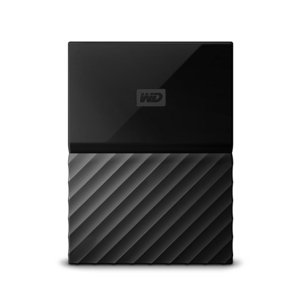 WESTERN DIGITAL MY PASSPORT 2TB BLACK EXTERNAL HARD DRIVE