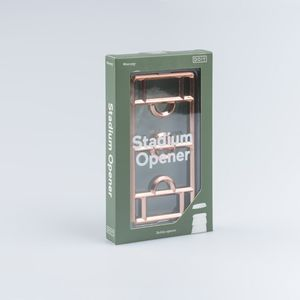 DOIY Stadium Bottle Opener Copper