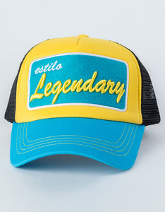 B180 Estillo Legendary2 Blue/Yellow/Black Cap