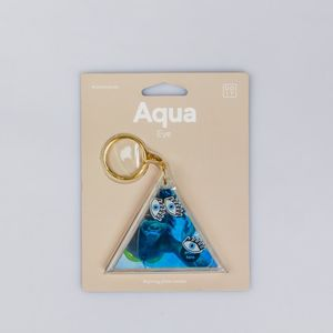DOIY Aqua Keyring Photo Holder Eye