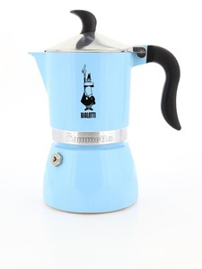 Bialetti Fiammetta Espresso Maker Light Blue 250ml [Makes 3 Cups]
