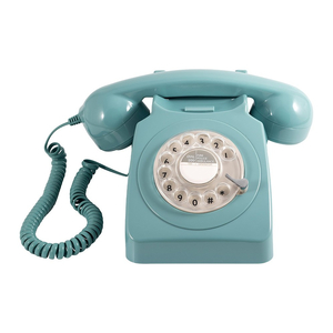 GPO Telephones 746 Rotary Blue