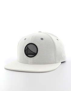 New Era NBA Reflective Pk Golden State Warriors Optic White Cap