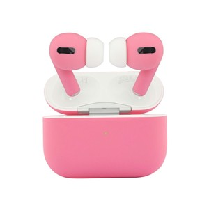 Apple Airpods Pro Matte Pink Noise-Cancelling Earphones with Wireless Charging Case