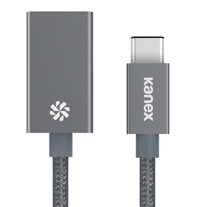 Kanex USB-C To USB 3.0 Space Grey Adapter