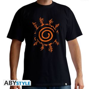 Abystyle Naruto Shippuden Sceau Men's T-Shirt Black