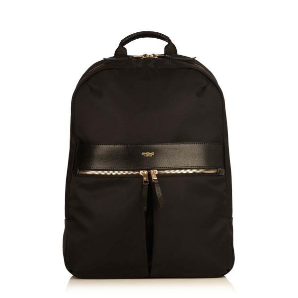 Knomo Beauchamp Backpack Black For Laptop 14 Inch