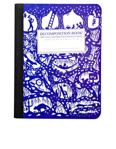 Decomposition Notebook Underground One Color [Large]
