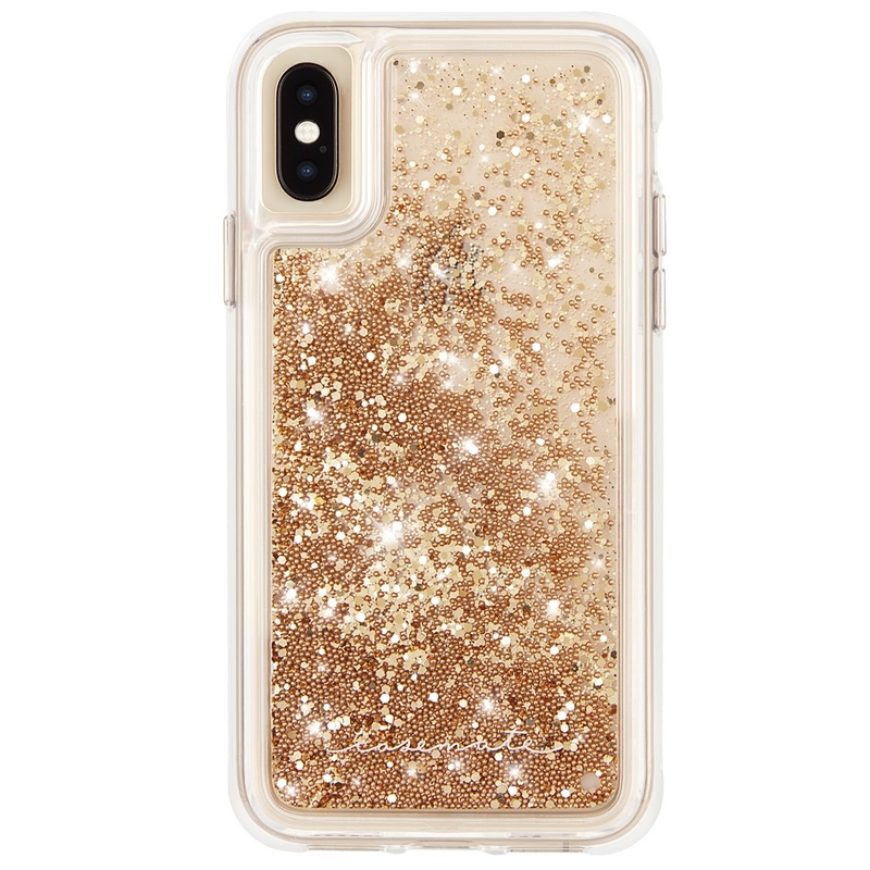 Case-Mate Waterfall Case Gold for iPhone XS Max  9f8cdeb78