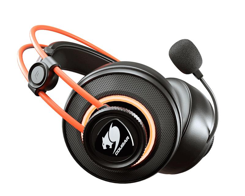 Cougar Immersa Pro Ti Black/Orange Gaming Headset