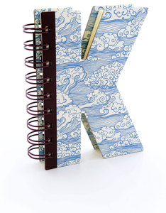 Alpha Note Books Mini Letter K