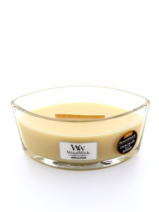 Woodwick Large Scented Candle Vanilla Bean