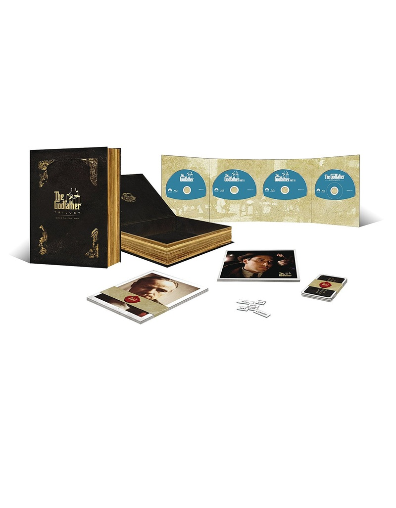 The Godfather Trilogy 45th Anniversary Edition Omerta Collection [4 Disc Set]