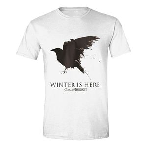 Time City Game Of Thrones Winter Is Here Men's T-Shirt White