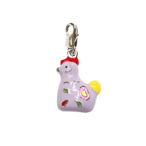 Bombay Duck Metal Chicken Charm