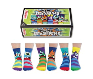United Oddsocks Mini-Mashers Childrens Socks [3 Pairs]