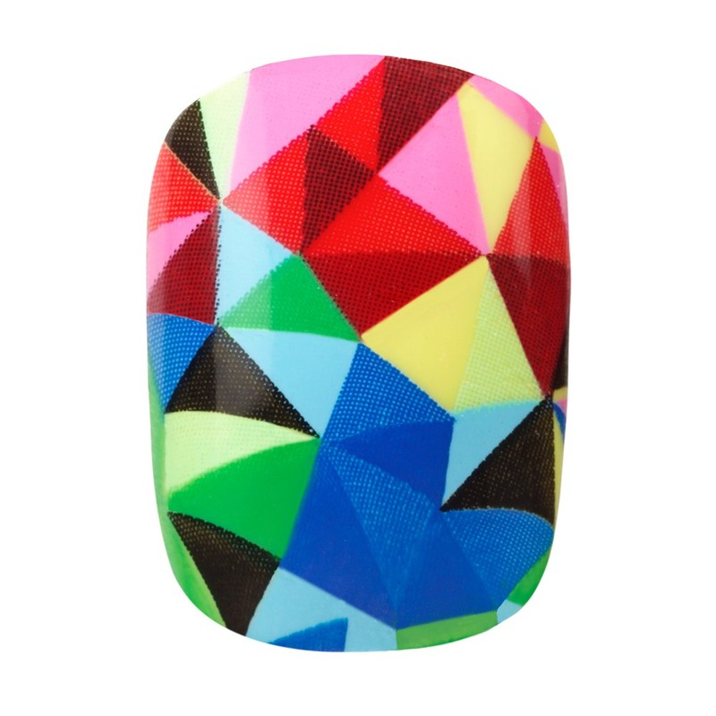 Elegant Touch Express Trend Kaleidoscope Press-On Nails