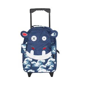 Hippipos the Hippo Medium Trolley Backpack