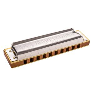 Hohner Marine Band 1896 Diatonic Harmonica [Key of A]