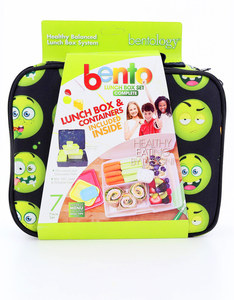 Bentology Emoji Complete Lunch Box Set