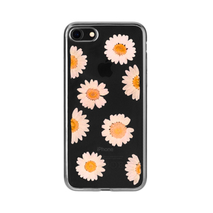 Flavr iPlate Real Flower Daisy Case For iPhone 7