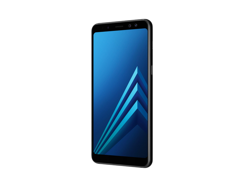 samsung galaxy a8 smartphone dual sim 4g 64gb black mobile phones mobile phones. Black Bedroom Furniture Sets. Home Design Ideas