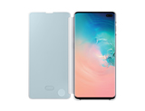 Samsung B2 Clear View Cover White for Galaxy S10+