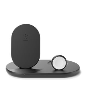 Belkin 3-in-1 Wireless Pad/Stand/Apple Watch Black
