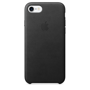Apple Leather Case Black iPhone 7