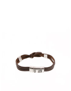 Icon Brand One In The Clip Brown Bracelet