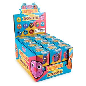 Kidrobot Yummy World Attack Of The Donuts Keychain Series Blind Box [Includes 1]