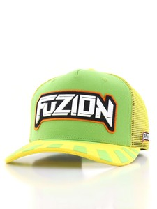 Fuzion Xtreme Baseball Cap Green/Yellow