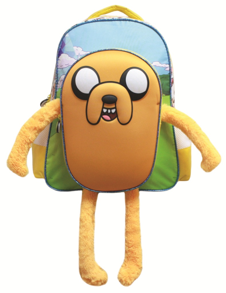 Adventure Time Jake Plush Style Backpack