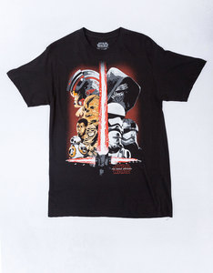 Mad Engine Star Wars Sword Team-1 Black T-Shirt