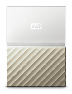 WESTERN DIGITAL MY PASSPORT ULTRA 1TB GOLD EXTERNAL HARD DRIVE