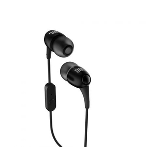 JBL T100A Black Earphones with Mic
