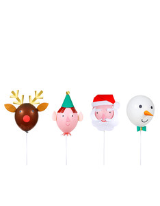 Meri Meri Christmas Characters Balloon Kit