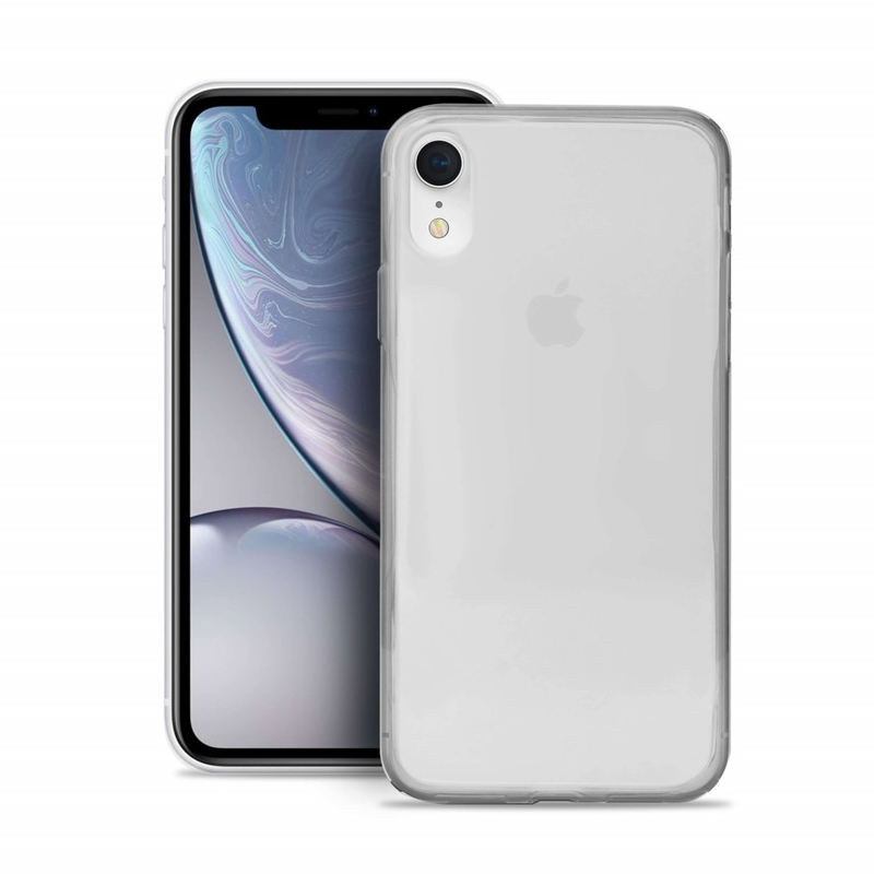 PURO 0.3 NUDE TPU ULTRA-SLIM CASE TRANSPARENT FOR IPHONE XR