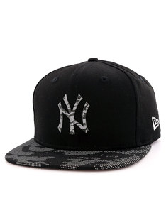 New Era Reflective Digi Camo NY Yankees Black/Camo Cap