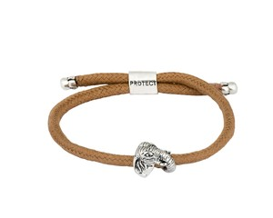 Bold Elephant Endangered Eco Brown Bracelet