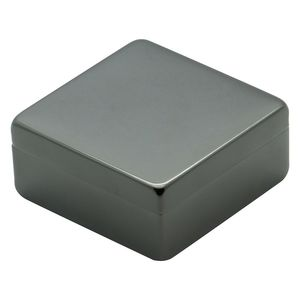 Lund Luxe Gunmetal Square Box with Lid