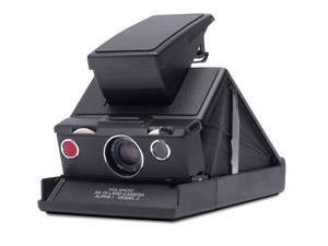 Polaroid SX-70 Black/Black Camera