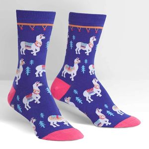 Sock It To Me Women's Crew Como Te Llamas? Socks