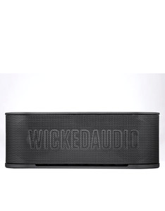 Wicked Audio Outcry Extream Black Bluetooth Speaker