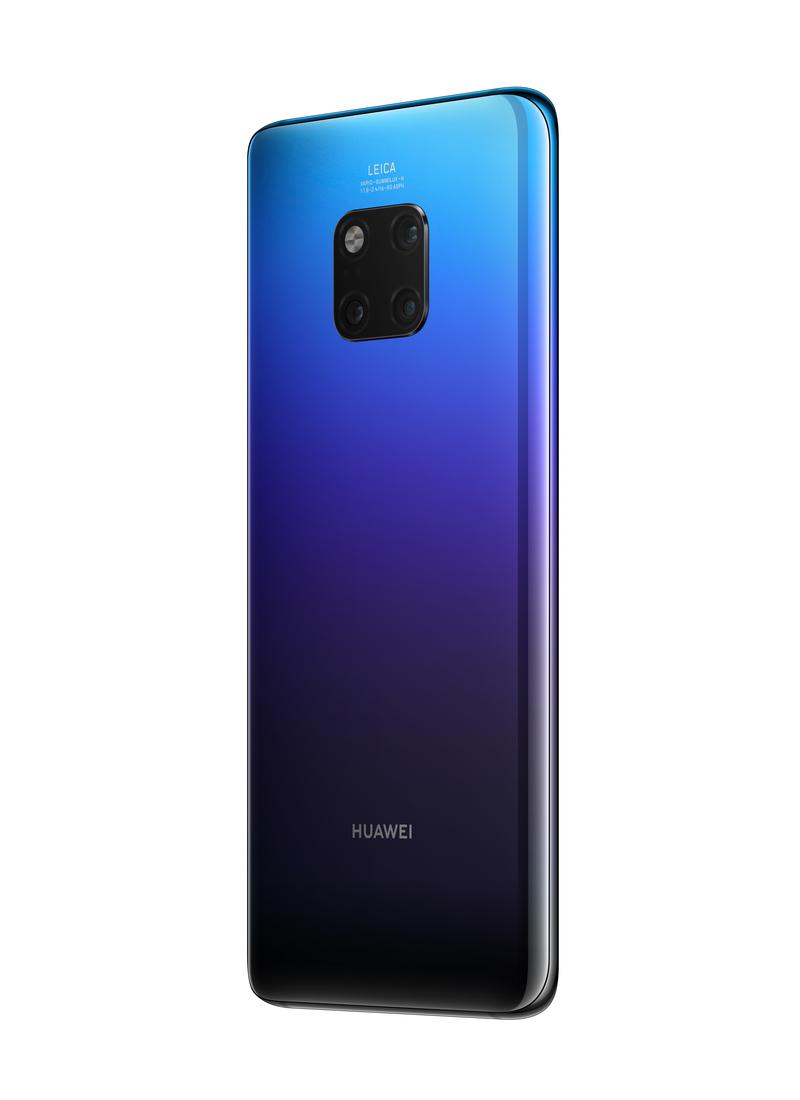 Huawei Mate 20 Pro Smartphone 128 GB Dual SIM 4G Twilight Purple