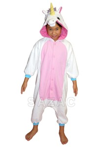 Kigurumi Unicorn White Kids
