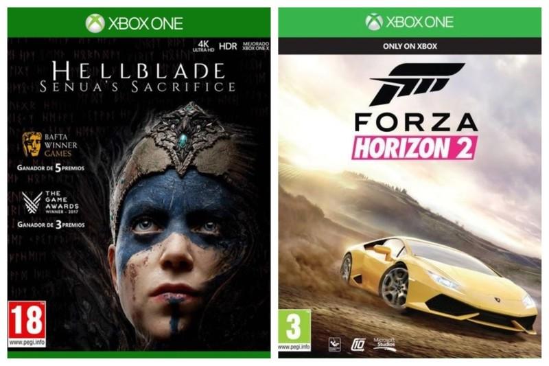 Hellblade: Senua's Sacrifice + Forza Horizon 2